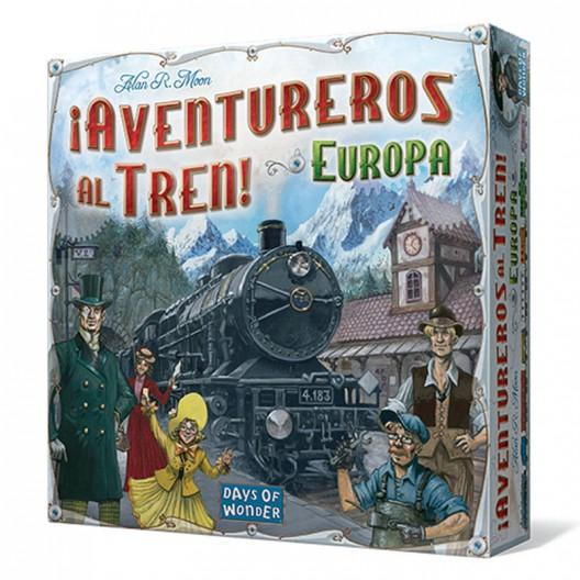 Joc de taula: Aventureros al tren! Europa